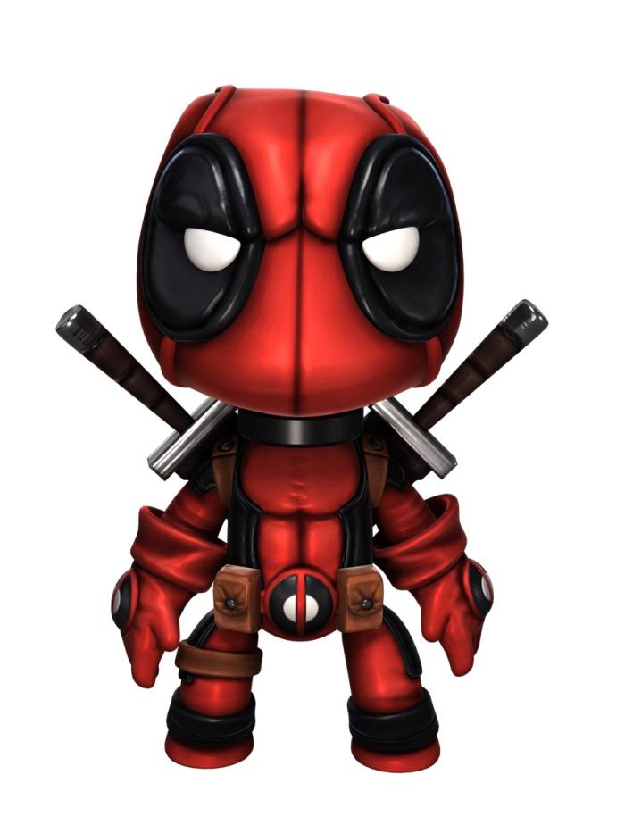 Deadpool Sackboy!