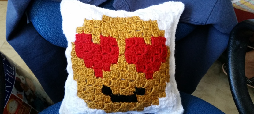♥ Crocheted Pillow ♥