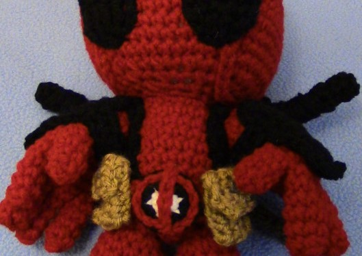 Make your own Deadpool Doll!