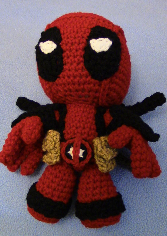 Crochet Wedding Dress Pattern Doll : Make your own Deadpool Doll!