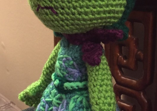 Crocheting Disgust from Inside Out