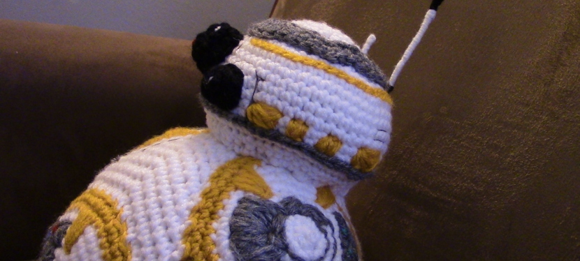 Crochet BB8 with Video Tutorial!