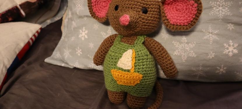 Crochet a mouse