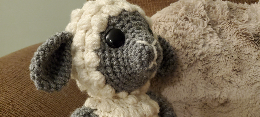 Crochet a sheep